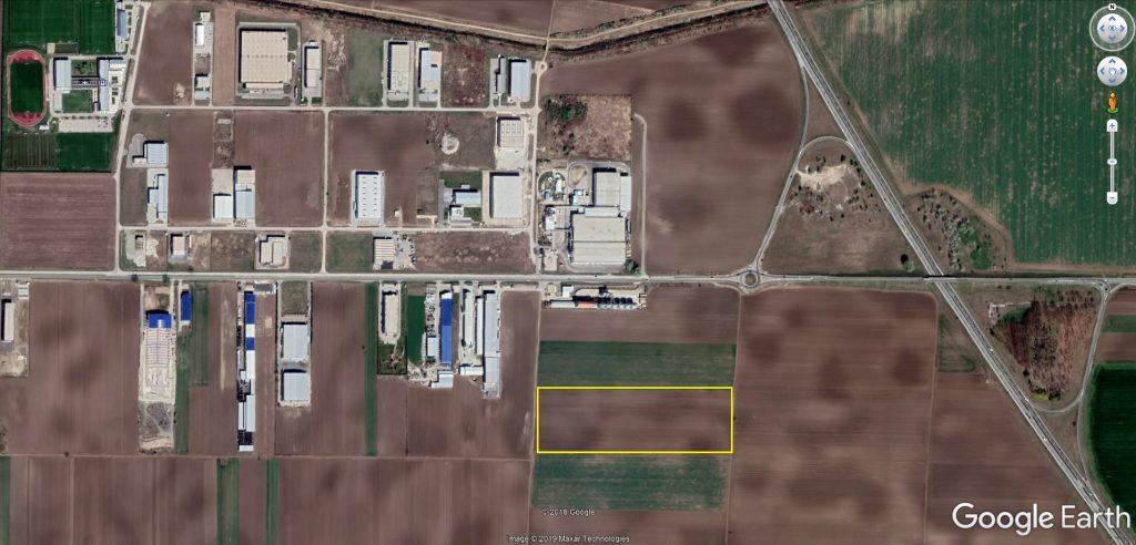 Pozicija parcele u industrijskoj zoni
